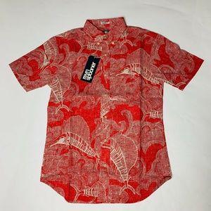 Reyn Spooner Mens Hawaian Shirt Size Small The Sea